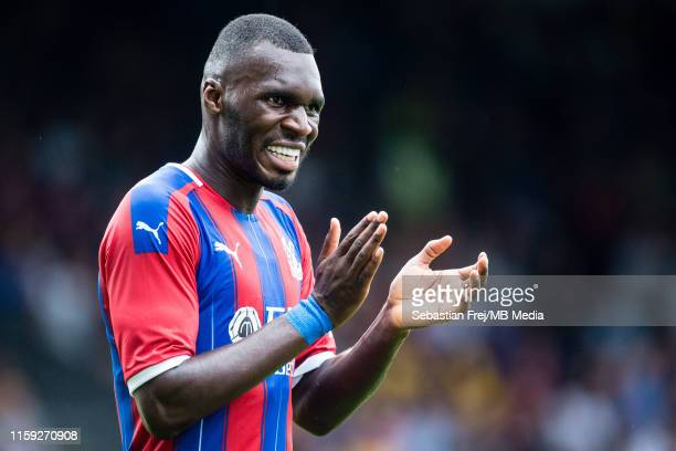Christian Benteke of Crystal Palace reaction during the Pre-Season Friendly match between Crystal Palace and Hertha BSC Berlin at Selhurst Park on...