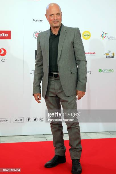 Christian Berkel, actor, attends the opening ceremony of the 2018 Frankfurt Book Fair on October 9, 2018 in Frankfurt am Main, Germany. The 2018...
