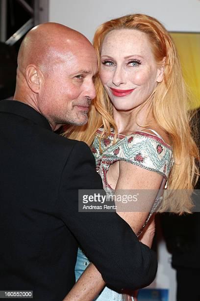 Christian Berkel and Andrea Sawatzki attend 'Goldene Kamera 2013' at Axel Springer Haus on February 2 2013 in Berlin Germany