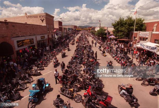 Christian bikers at the Sturgis motorcycle rally Main Street in Sturgis SD