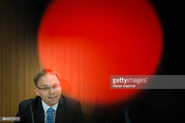 Christian Blex Member of the Landtag of North RhineWestphalia and member of the German rightwing Alternative for Germany political party is pictured...