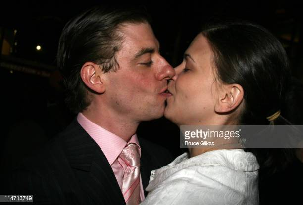 Christian Borle and wife Sutton Foster