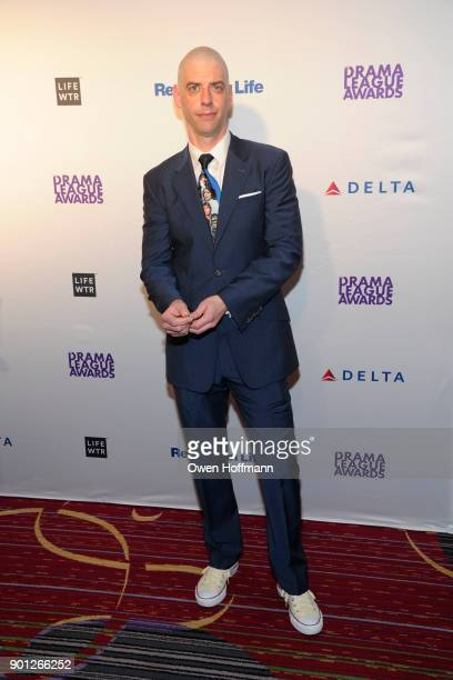 Christian Borle attends 83rd Annual Drama League Awards at Marriott Marquis on May 19 2017 in New York City