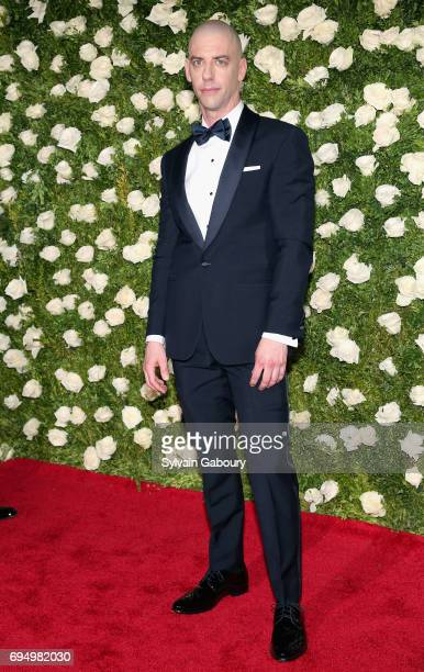 Christian Borle attends the 2017 Tony Awards at Radio City Music Hall on June 11 2017 in New York City