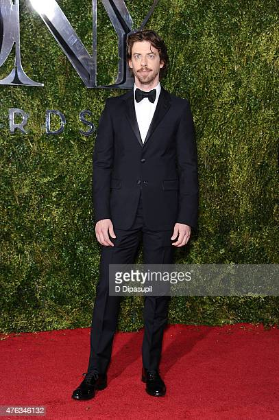Christian Borle attends the American Theatre Wing's 69th Annual Tony Awards at Radio City Music Hall on June 7 2015 in New York City