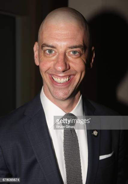 Christian Borle poses at The 71st Annual Tony Awards Meet the Nominees Press Junket at Sofitel Hotel on May 3 2017 in New York City