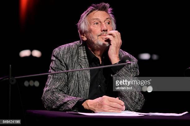 Christian Brückner bei der großen lit.COLOGNE Gala in der Philharmonie Köln