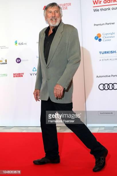 Christian Brueckner, actor, attends the opening ceremony of the 2018 Frankfurt Book Fair on October 9, 2018 in Frankfurt am Main, Germany. The 2018...