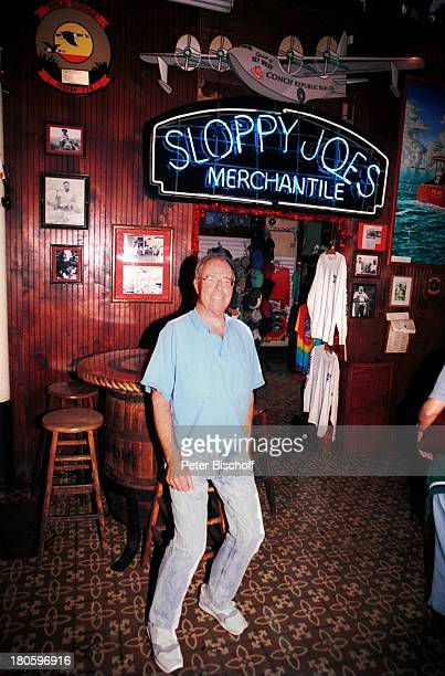Christian Bruhn Komponist Sloopy Joes Bar Kneipe Hocker Urlaub Big Pine Key Miami USA
