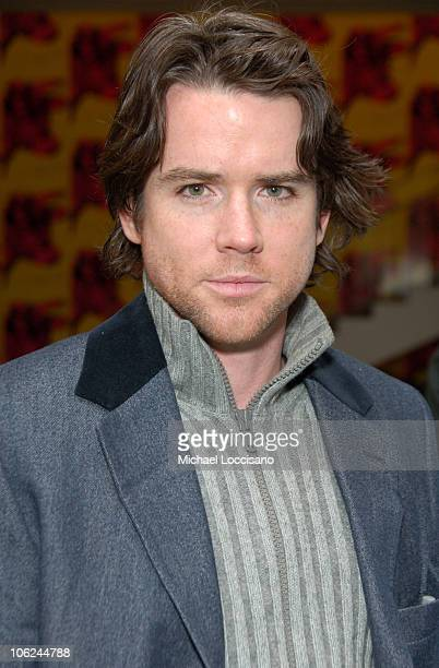 Christian Campbell during Miss Potter Special Private Screening at MoMA Theatre in New York City New York United States