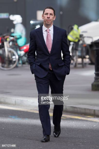 Christian Candy arrives at the High Court on March 2 2017 in London England Christian Candy and his brother Nick are being sued by businessman Mark...