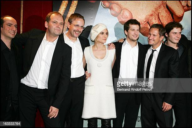 Christian Carion Christian Rossignon Diane Kruger Guillaume Canet Benno Furmann Daniel Bruhl at the Paris Premiere Of Joyeux Noel At L'Ugc Normandie...
