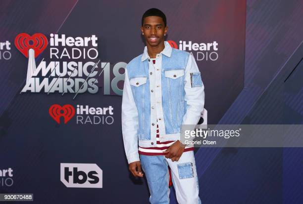 Christian Casey Combs attends the 2018 iHeartRadio Music Awards at the Forum on March 11 2018 in Inglewood California