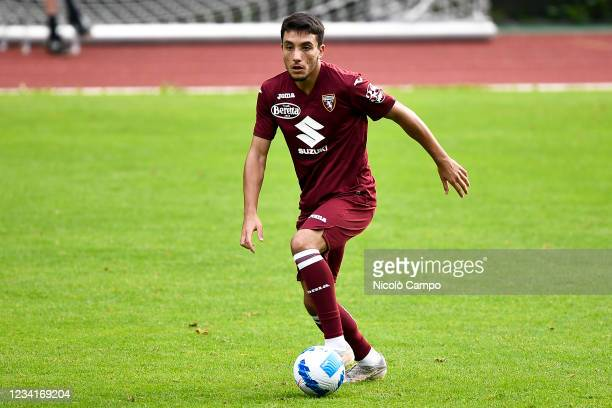 Christian Celesia of Torino FC in action during the pre-season friendly football match between Torino FC and SSV Brixen. Torino FC won 5-1 over SSV...