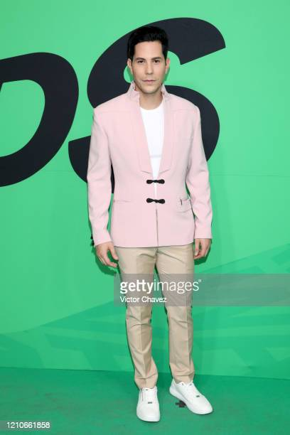 Christian Chavez attends the 2020 Spotify Awards at the Auditorio Nacional on March 05 2020 in Mexico City Mexico