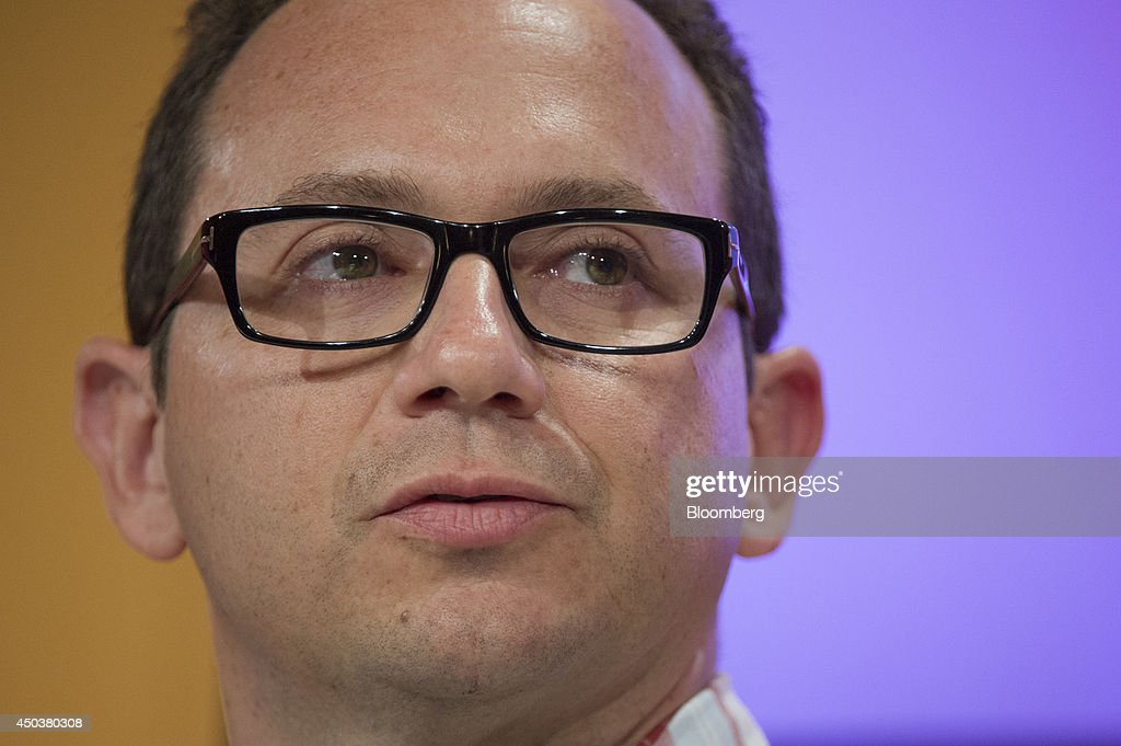 Christian 'Chris' Sanz, co-founder and chief executive officer of Skycatch Inc., speaks at the Bloomberg Next Big Thing Summit in Sausalito, California, U.S., on Monday, June 9, 2014. The conference convenes tech's most important entrepreneurs, investors, and innovators for a discussion about what makes great tech leaders, successful companies, and disruptive products. Photographer: David Paul Morris/Bloomberg via Getty Images