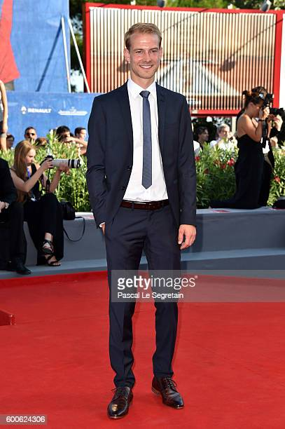 Christian Clauss attends the premiere of 'Paradise' during the 73rd Venice Film Festival at Sala Grande on September 8 2016 in Venice Italy