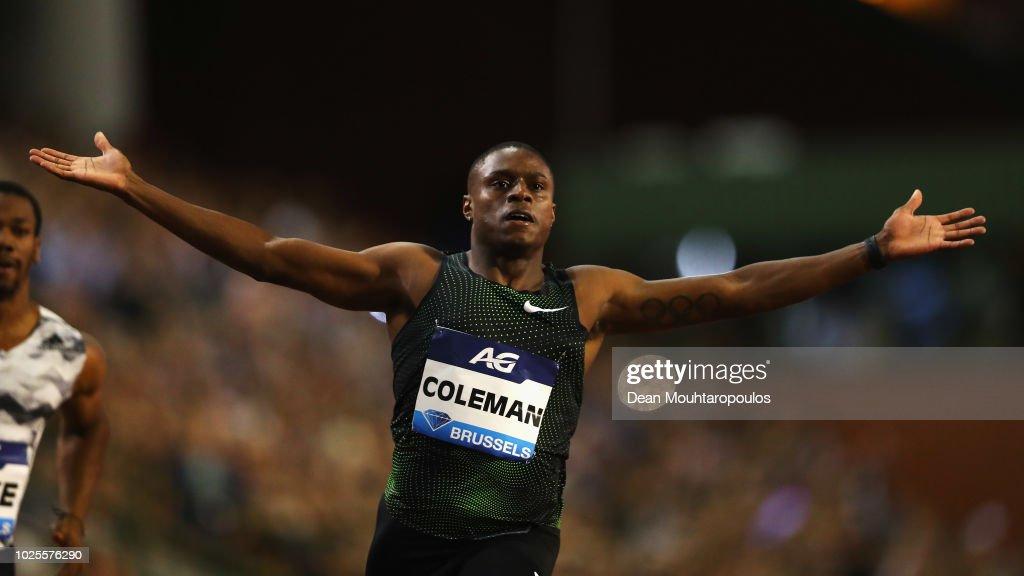 Brussels - IAAF Diamond League 2018: AG Memorial Van Damme : News Photo