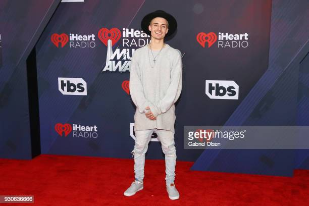 Christian Collins attends the 2018 iHeartRadio Music Awards at the Forum on March 11 2018 in Inglewood California