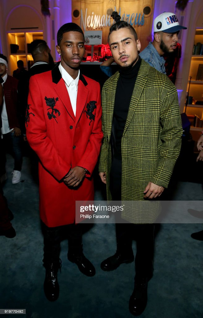 2018 GQ x Neiman Marcus All Star Party - Inside : News Photo