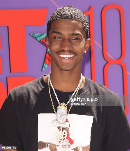 Christian Combs arrives to the 2018 BET Awards held at Microsoft Theater on June 24 2018 in Los Angeles California