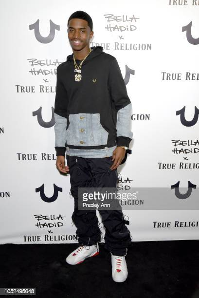 Christian Combs attends Bella Hadid x True Religion Event Campaign Party at Poppy on October 18 2018 in Los Angeles California