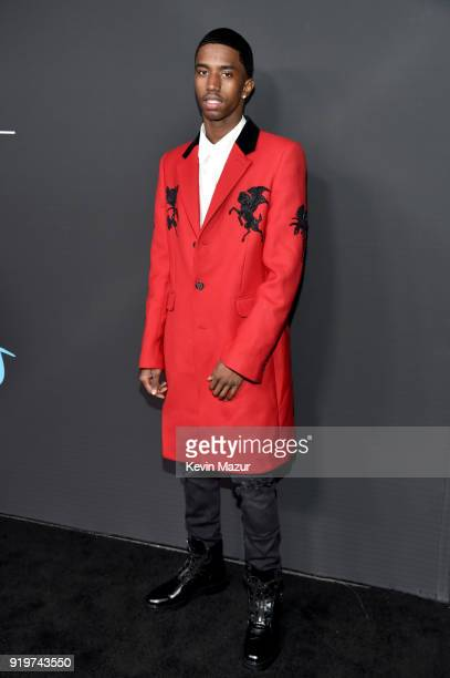 Christian Combs attends GQ's 2018 AllStars Celebration at Nomad Hotel Los Angeles on February 17 2018 in Los Angeles California