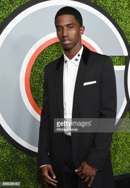 Christian Combs attends the 2017 GQ Men of the Year party at Chateau Marmont on December 7 2017 in Los Angeles California