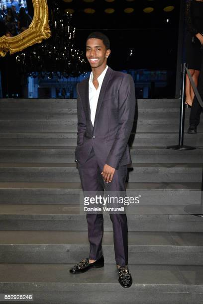 Christian Combs attends the Dolce Gabbana show during Milan Fashion Week Spring/Summer 2018 on September 24 2017 in Milan Italy