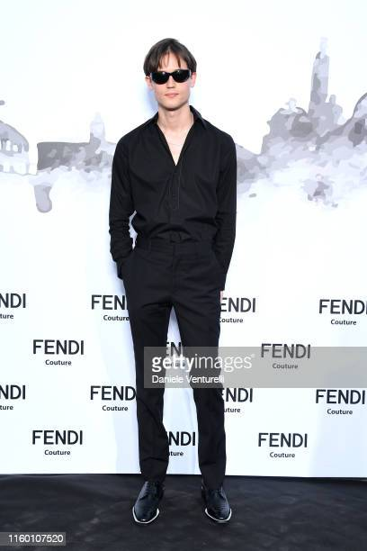 Christian Coppola attends the Cocktail at Fendi Couture Fall Winter 2019/2020 on July 04, 2019 in Rome, Italy.