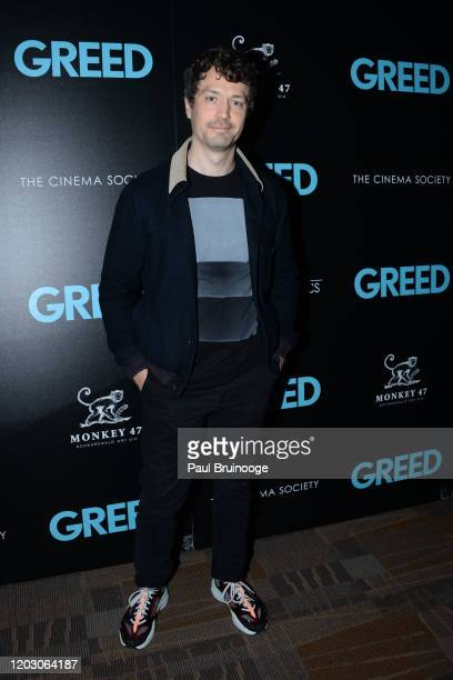 "Christian Coulson attends The Cinema Society & Monkey 47 Host A Special Screening Of Sony Pictures Classics' ""Greed"" at Cinepolis Chelsea on February..."