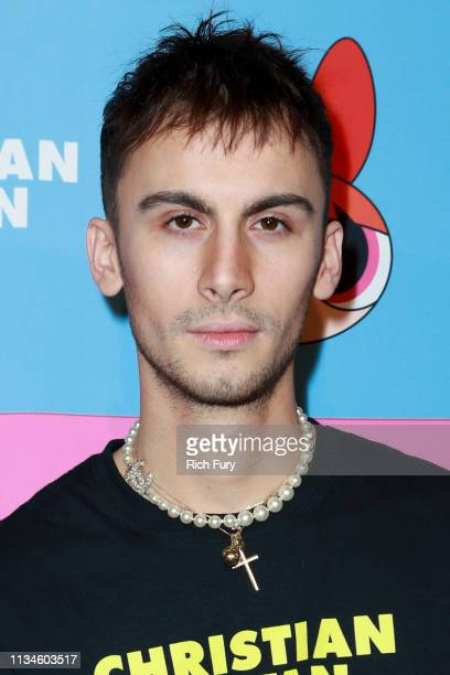 Christian Cowan attends Christian Cowan x The Powerpuff Girls at City Market Social House on March 08 2019 in Los Angeles California