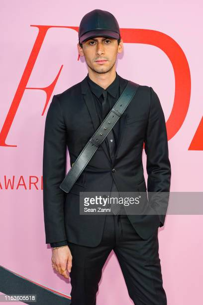 Christian Cowan attends the 2019 CFDA Fashion Awards Arrivals at Brooklyn Museum on June 03 2019 in New York City