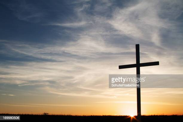 Christian Cross Silhouette