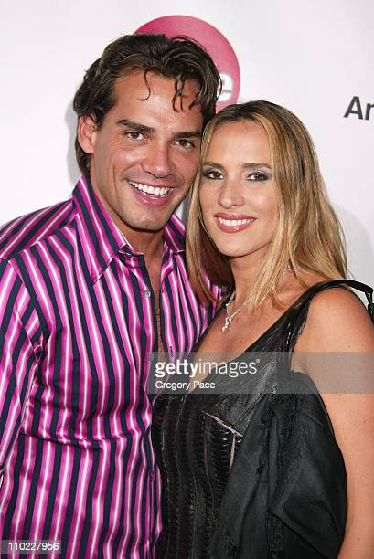 Christian de la Fuente and Anjelica Castro during People En Espanol's 4th Annual 50 Most Beautiful Gala White Carpet Arrivals at Capitale in New York...