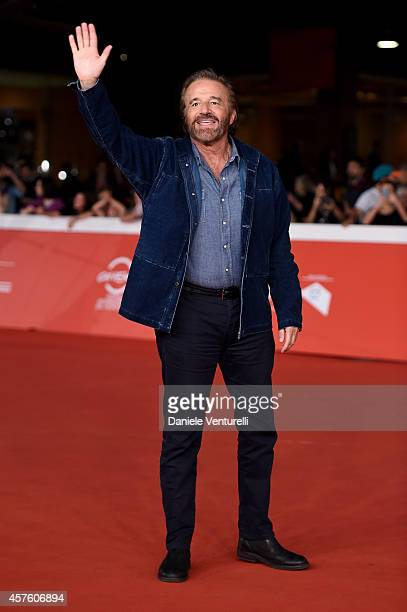 Christian De Sica attends 'Tre Tocchi' Red Carpet during the 9th Rome Film Festival at Auditorium Parco Della Musica on October 21 2014 in Rome Italy