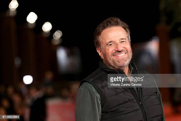 Christian De Sica walks a red carpet for 'Sole Cuore Amore' during the 11th Rome Film Festival at Auditorium Parco Della Musica on October 15 2016 in...