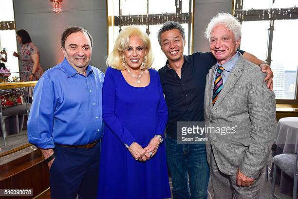 Christian Delouvrier Harriette Rose Katz Toma Kobayashi and Barry Wine attend Harriette Rose Katz Hosts The Second Anniversary of The Chosen Few at...