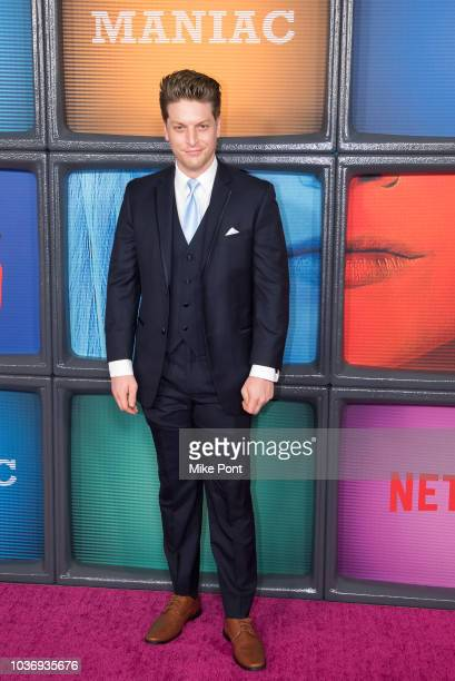Christian DeMarais attends the 'Maniac' season 1 New York premiere at Center 415 on September 20 2018 in New York City