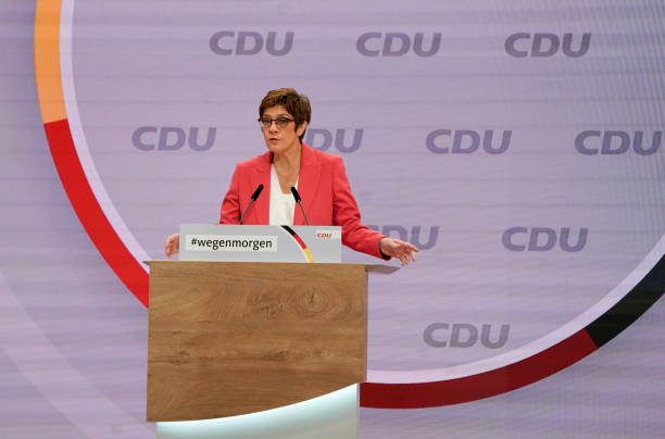 DEU: CDU Holds Digital Party Congress To Elect New Leader