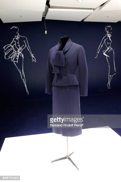 Christian Dior celebrates 70 Years of Creation at the Galeries Lafayette Haussmann on September 19 2017 in Paris France