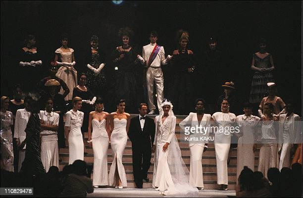 Christian Dior Fashion Show In Tokyo Japan On May 22 1986 Marc Bohan