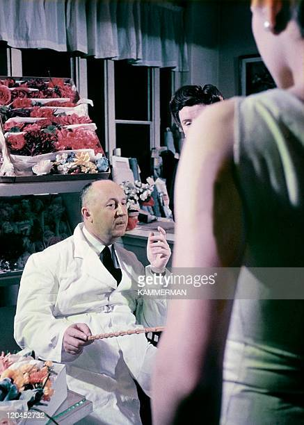 "Christian Dior in France in the 1950s - Dior and his ""new look"" models."