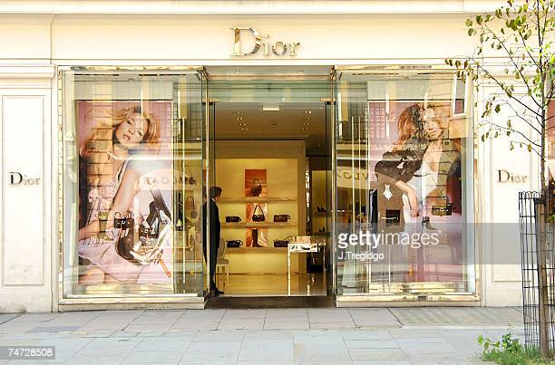 d07727bbe4d2 Christian Dior shop in Sloane Street London at the Various in London United  Kingdom