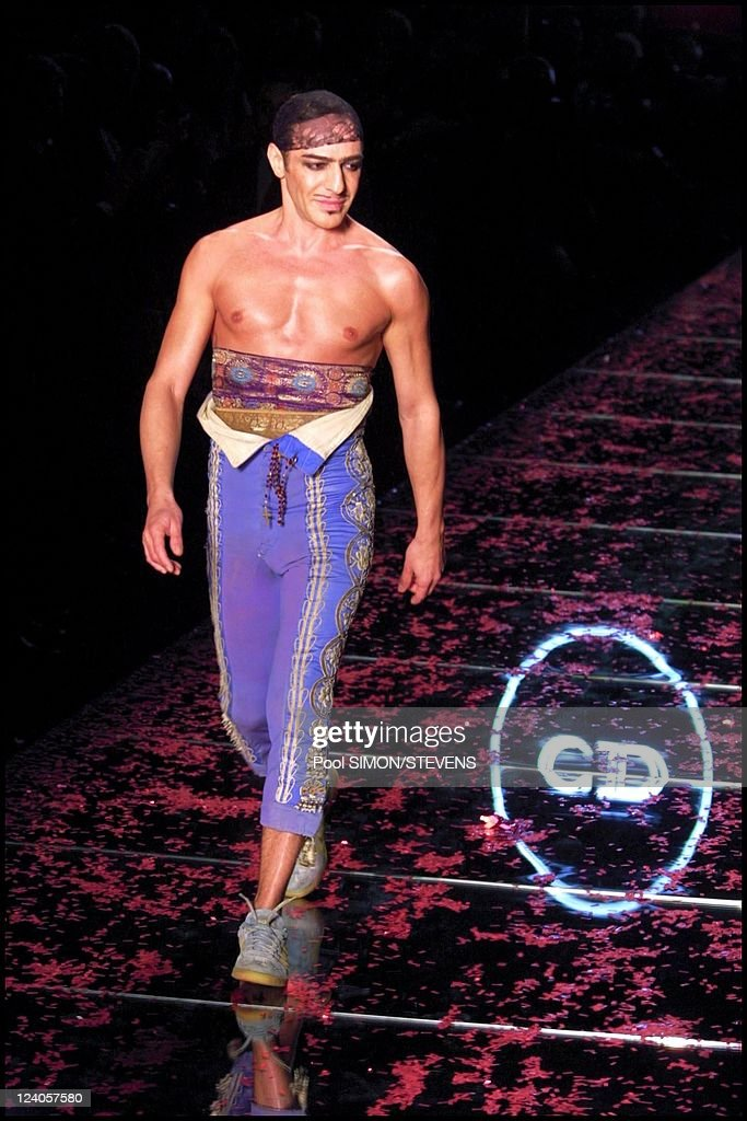 cdaadd7b4f Christian Dior Spring Summer Haute Couture 2002 Collection In Paris, France  On January 21,