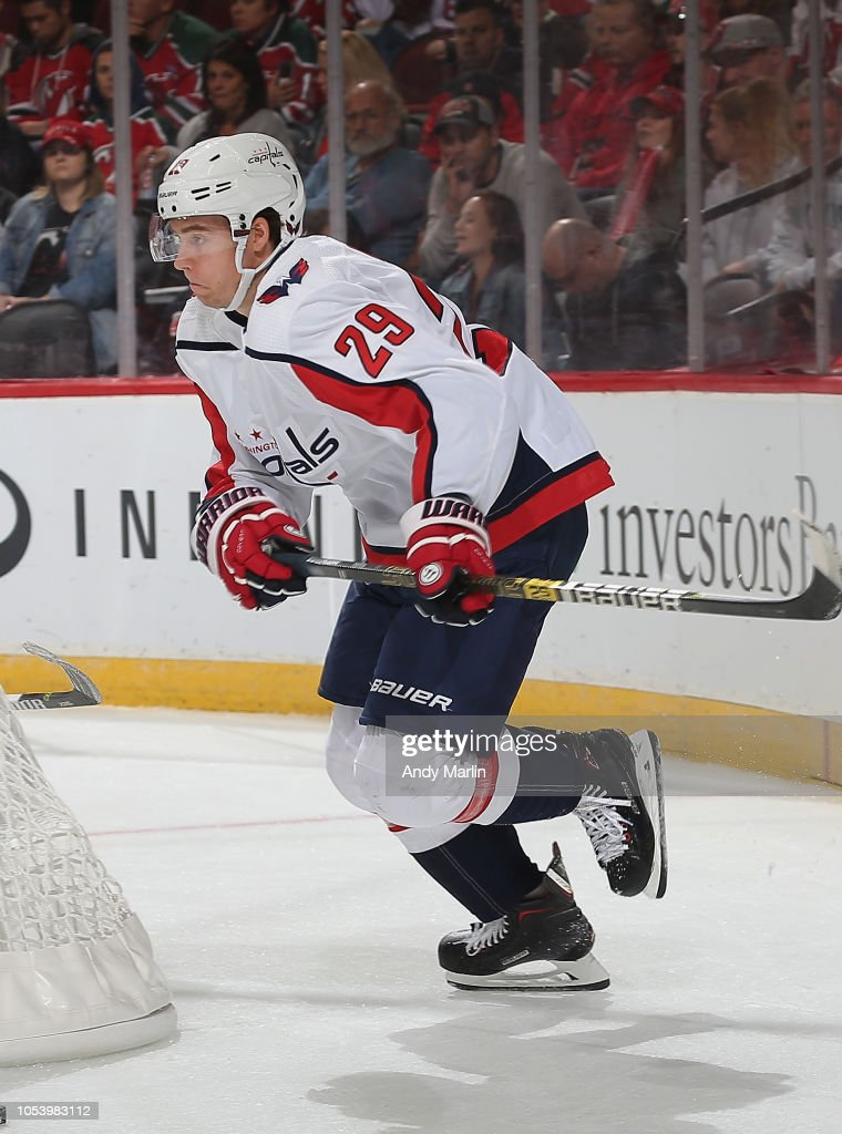 Christian Djoos of the Washington Capitals skates against the New ... cd80ce6b5