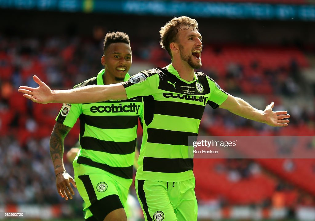 Tranmere v Forest Green - Vanarama National League Play Off Final : News Photo