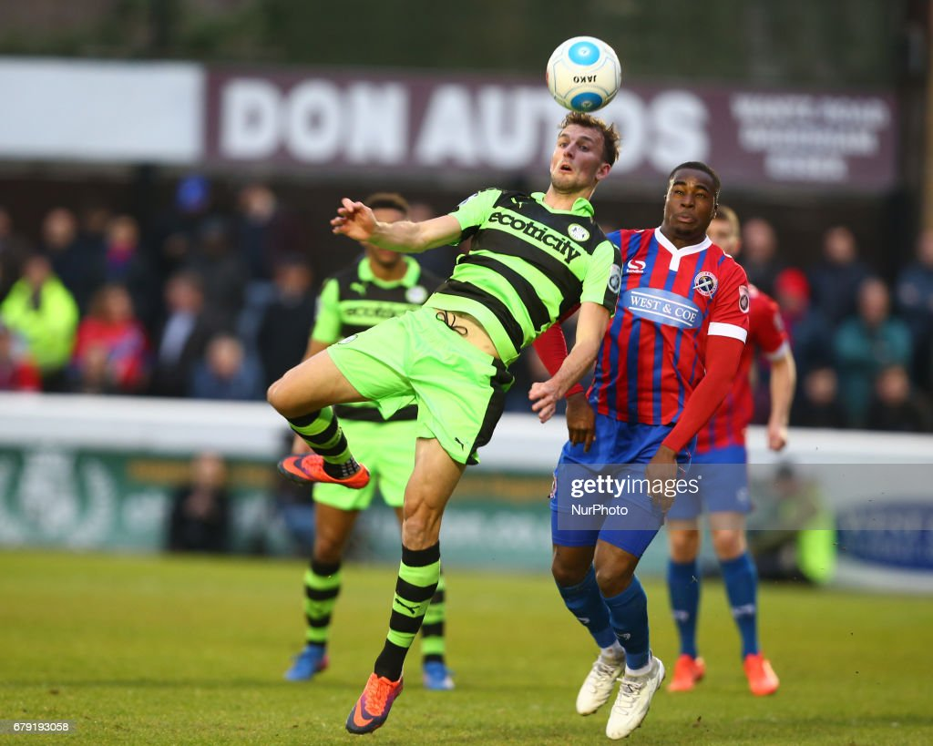 Dagenham and Redbridge v Forest Green Rovers - Vanarama National League Football Promotion Semi-Final First Leg : News Photo