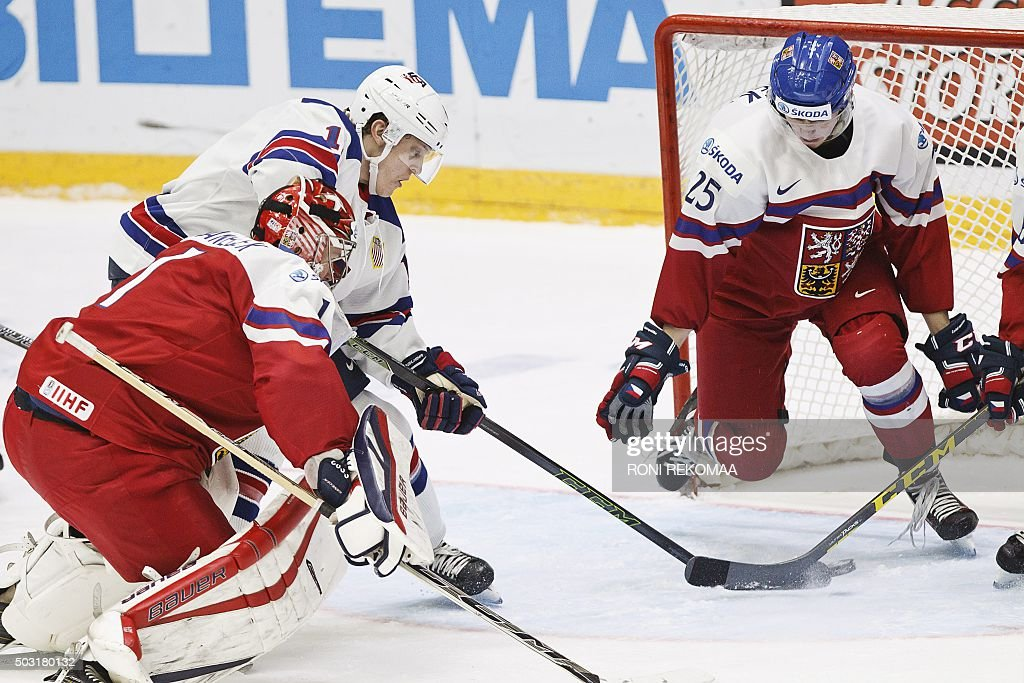 IHOCKEY-U20-USA-CZE : News Photo