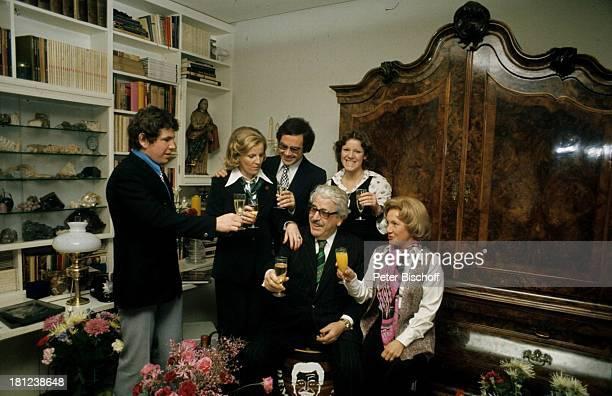 Christian Eisenlohr, Ehefrau Katarina Eisenlohr, Peter Millowitsch, Vater Willy Millowitsch, Tochter Mariele Millowitsch, Mutter Gerda Millowitsch, ,...